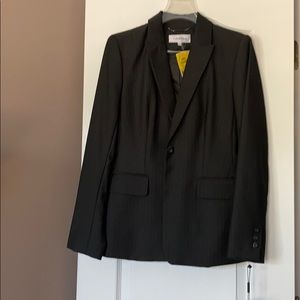 Calvin Klein gray suit jacket